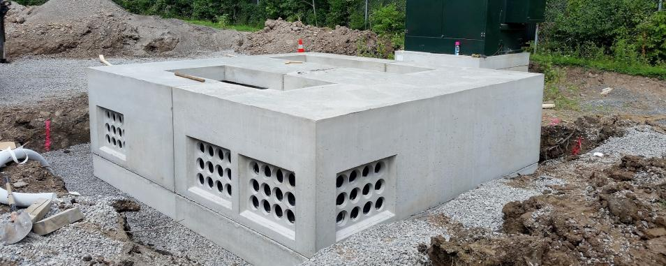 utility vault
