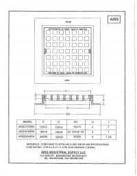 12x12 - 18x18 Flush Inlet